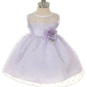 Lavender toddler formal dress Size Large-2T-3T